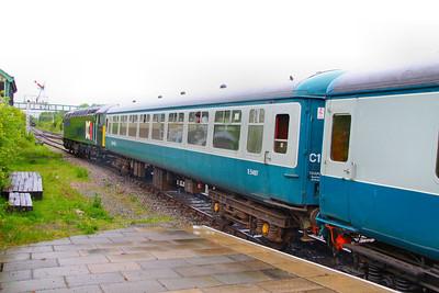 Mk2b TSO 5497 departs Ruddington on the Great Central Railway (North) 15/05/11