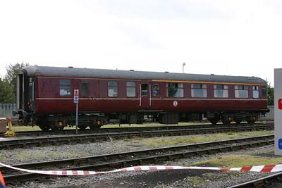 Mk2c BFK 35508 in York National Railway Museum Yard 16/09/07