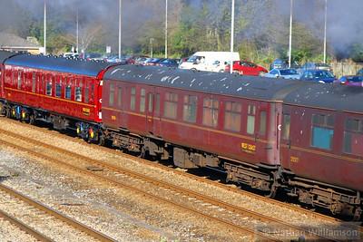 Mk2c BFK 35508 heads west through Totnes 20/04/13