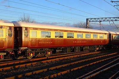 "Mk2d FO 3182 ""Warwick"" departs Carlisle on the: 1Z17 11:42 Darlington to Newcastle  05/12/12"
