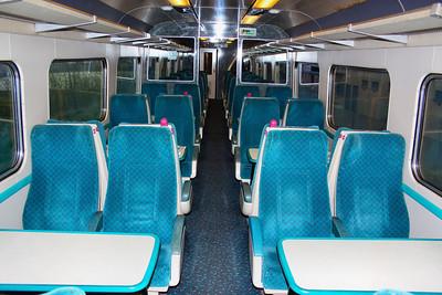 Mk2d TSO 5657 Interior, refurbished by Great Western Trains Company Ltd.  20/04/12