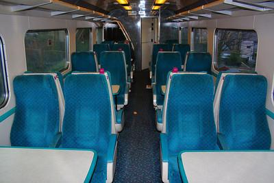 Mk2d TSO 5632 Interior, refurbished by Great Western Trains Company Ltd.  20/04/12