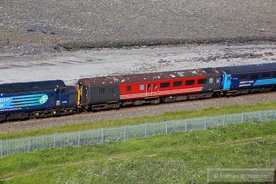 Mk2e BSO 9507 arrives into Harrington 09/06/15