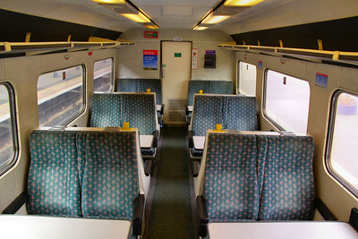 9508 - Interior with Virgin Crosscountry coloured Seating 30/09/09