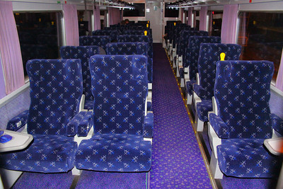 Mk2e BUO 9803 interior with new Scotrail seat covers  18/04/12