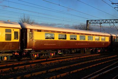 """Mk2e FO 3272 """"Alnwick"""" departs Carlisle on the: 1Z17 11:42 Darlington to Newcastle  05/12/12"""
