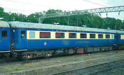"Mk2e FO 3240 ""Sapphire"" stored in Crewe LNWR 14/06/09"