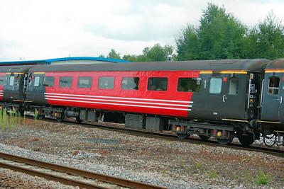 Mk2f FO 3314 departs Newton Abbot 27/08/09