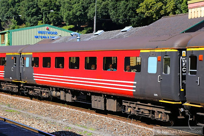 """Mk2f FO 3325 heads south through Torre, part of the consist of: 1Z72 07:45 Liverpool South Parkway to Paignton """"The Devonian""""  02/09/13"""