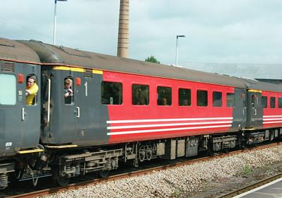 Mk2f RFB 1250 heads west through totnes 16/05/09