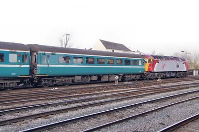 Mk2f TSO 6006 departs Newport 11/02/10