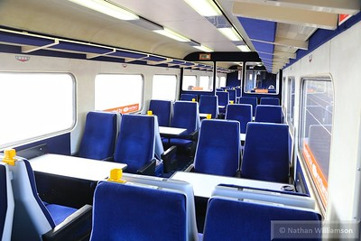 Mk2f TSO 6008 Interior, refurbished by Direct Rail Services 09/06/15