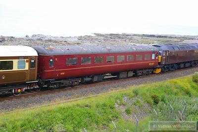 Mk2f TSO 6012 heads south through Parton 13/06/15