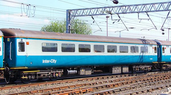 Mk2f TSO 6001 arrives into Carlisle 27/04/11