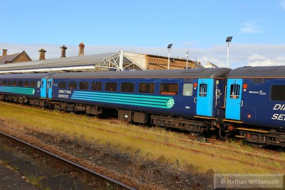 Mk2f TSO 6001 departs Workington 17/06/15