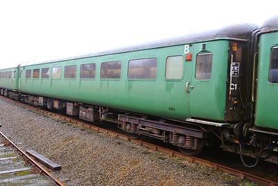 Mk2f TSO 6002 in Meldon Quarry on the Dartmoor Railway  03/04/15