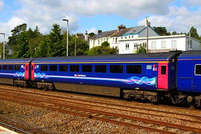 41017 arrives into Totnes 26/08/12