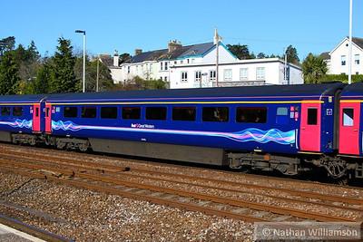 41010 arrives into Totnes 23/04/13