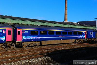41015 arrives into Totnes  13/02/14