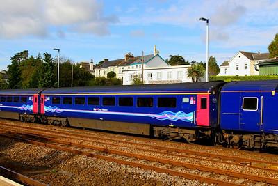 41005 arrives into Totnes 27/09/12