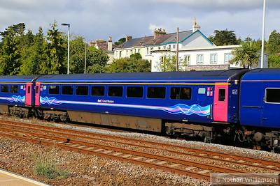 41007 arrives into Totnes 18/08/14