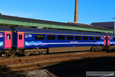 41016 arrives into Totnes  13/02/14