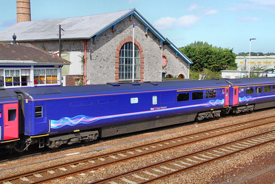 40807 calls at Totnes 21/08/11  40807 was converted from TRSB 40435