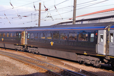 42408 arrives into York 17/10/09  42408 was converted from Loco-Hauled Mk3a TSO 12121 for Grand Central