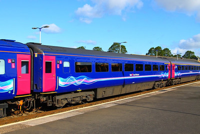 40112 departs Newton Abbot 26/08/12  40112 was converted from TS 42336