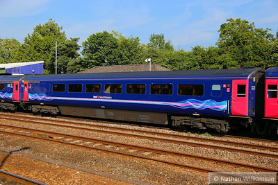 40105 calls at Totnes 07/07/13  40105 was converted from TS 42084