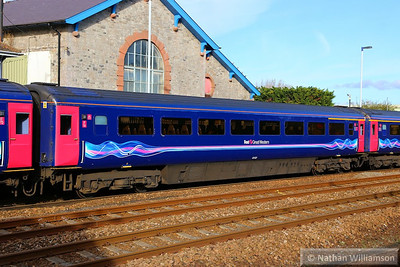 40102 calls at Totnes 10/11/13  40102 was converted from TS 42223