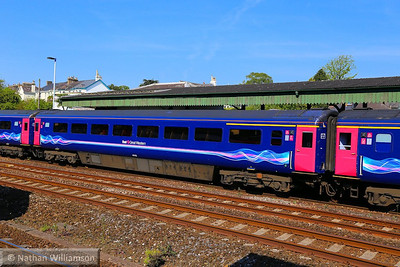 40103 arrives into Totnes 16/05/14  40103 was converted from TS 42316
