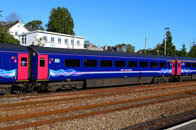 40113 arrives into Totnes 14/10/12  40113 was converted from TS 42309