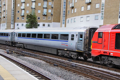 Mk3a FO 11008 was converted into TSO 12169 for Wrexham & Shropshire.  12169 arrives into Marylebone 08/05/12