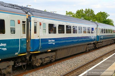 11029 heads west through South Ruislip 26/05/15  11029 is numbered as a FO but has been refurbished by Chiltern with standard class seating