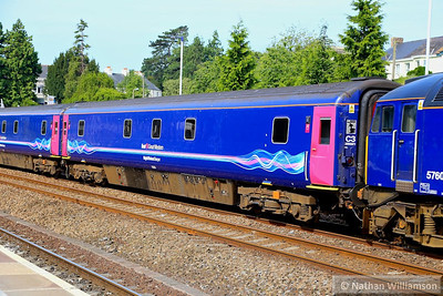 10534 heads north through Totnes on the: 5A40 07:55 Penzance to Old Oak Common 15/07/13