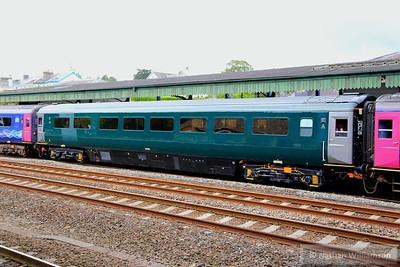 17175 calls at Totnes, wearing the new GWR livery  11/07/15