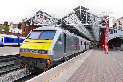 82304 departs Marylebone on the: 1R48 16:46 Marylebone to Birmingham Moor Street  08/05/12  82304 was converted from 82130