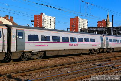 Mk4 FO 11288 departs Doncaster 18/06/14