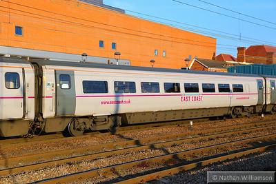 Mk4 FO 11244 arrives into Doncaster 18/06/14