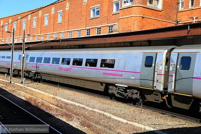 Mk4 FO 11219 departs York 18/06/14