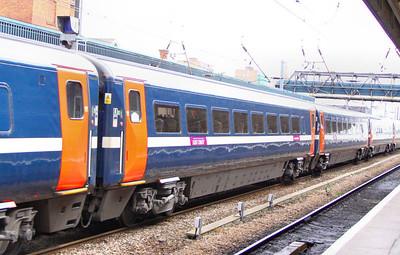 Mk4 TSO 12403 heads north through Doncaster 27/06/11