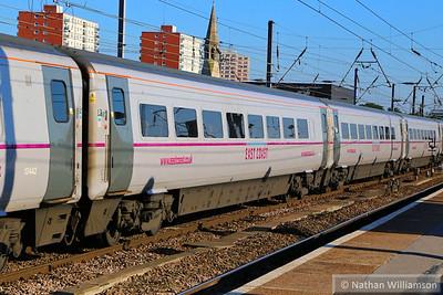 Mk4 TSO 12409 heads north through Doncaster 18/06/14