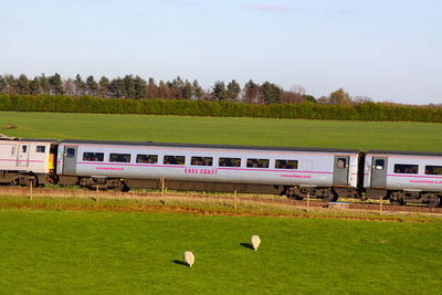 Mk4 TSO 12214 heads north through Colton Junction 05/04/12