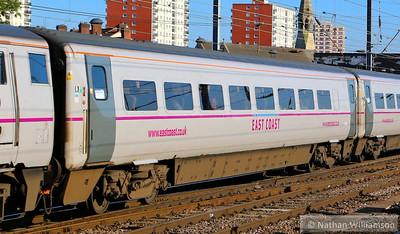 Mk4 TSOE 12205 heads south through Doncaster 18/06/14