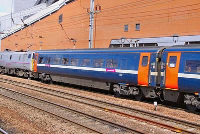 Mk4 TSOE 12223 arrives into Doncaster 30/06/11