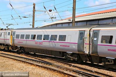 Mk4 TSOE 12224 arrives into York 18/06/14