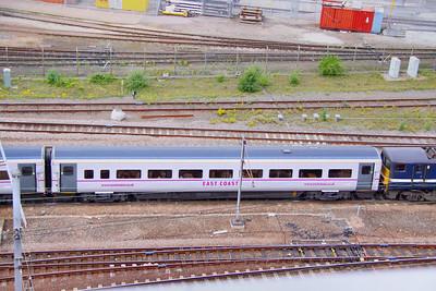 Mk4 TSOE 12208 departs Doncaster 30/06/11