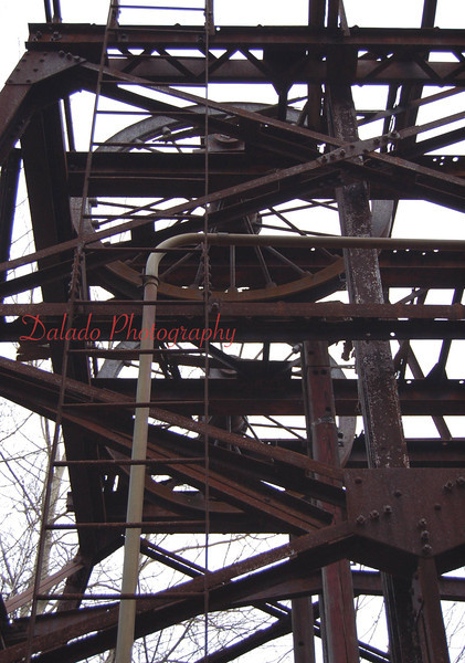 --This shaft was operated by the North Mahanoy Colliery which opened in 1858. Mining stopped in 1931.