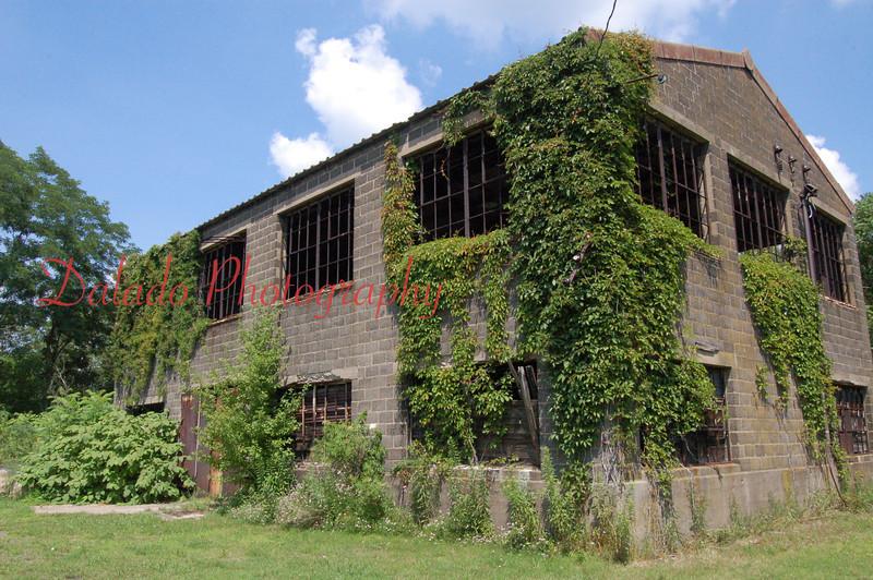 Reliance shaft engine house near Beaverdale.